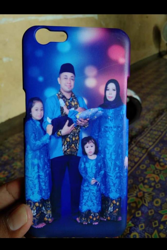 Gaya Custom Case Tema Desain Foto Keluarga di Bangka