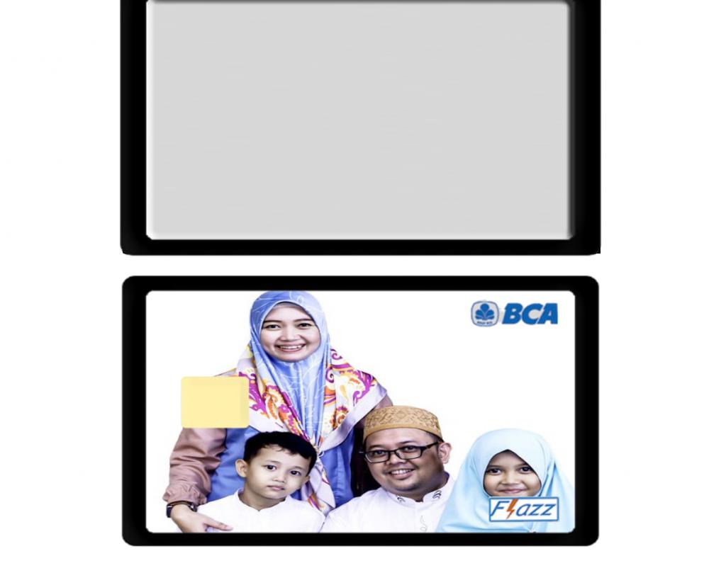 Edisi Keluarga Custom Flazz Card BCA  di Tangerang Selatan