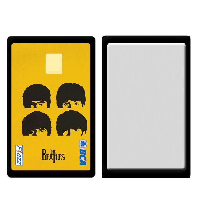 Edisi The Beatles Custom Kartu Flazz BCA Jakarta