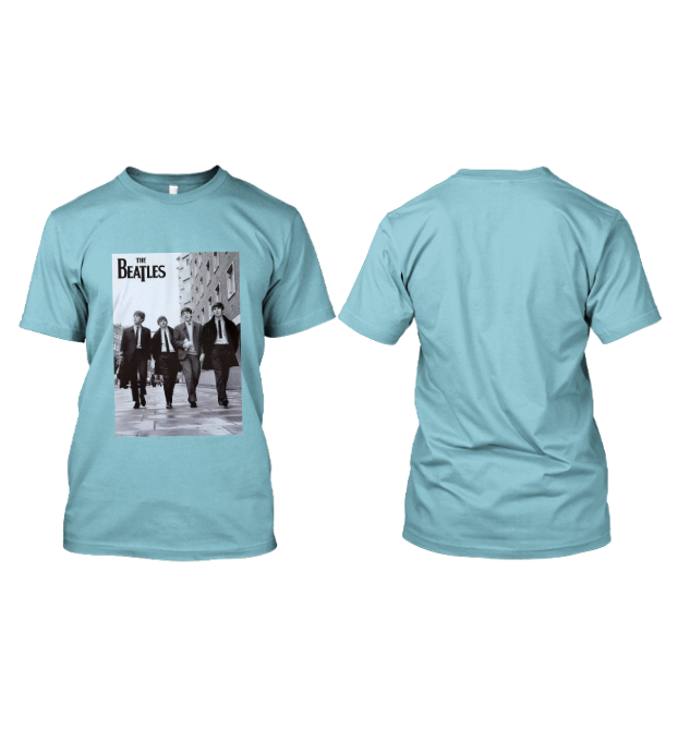 Custom Kaos Grup Legenda The Beatles di Tangerang