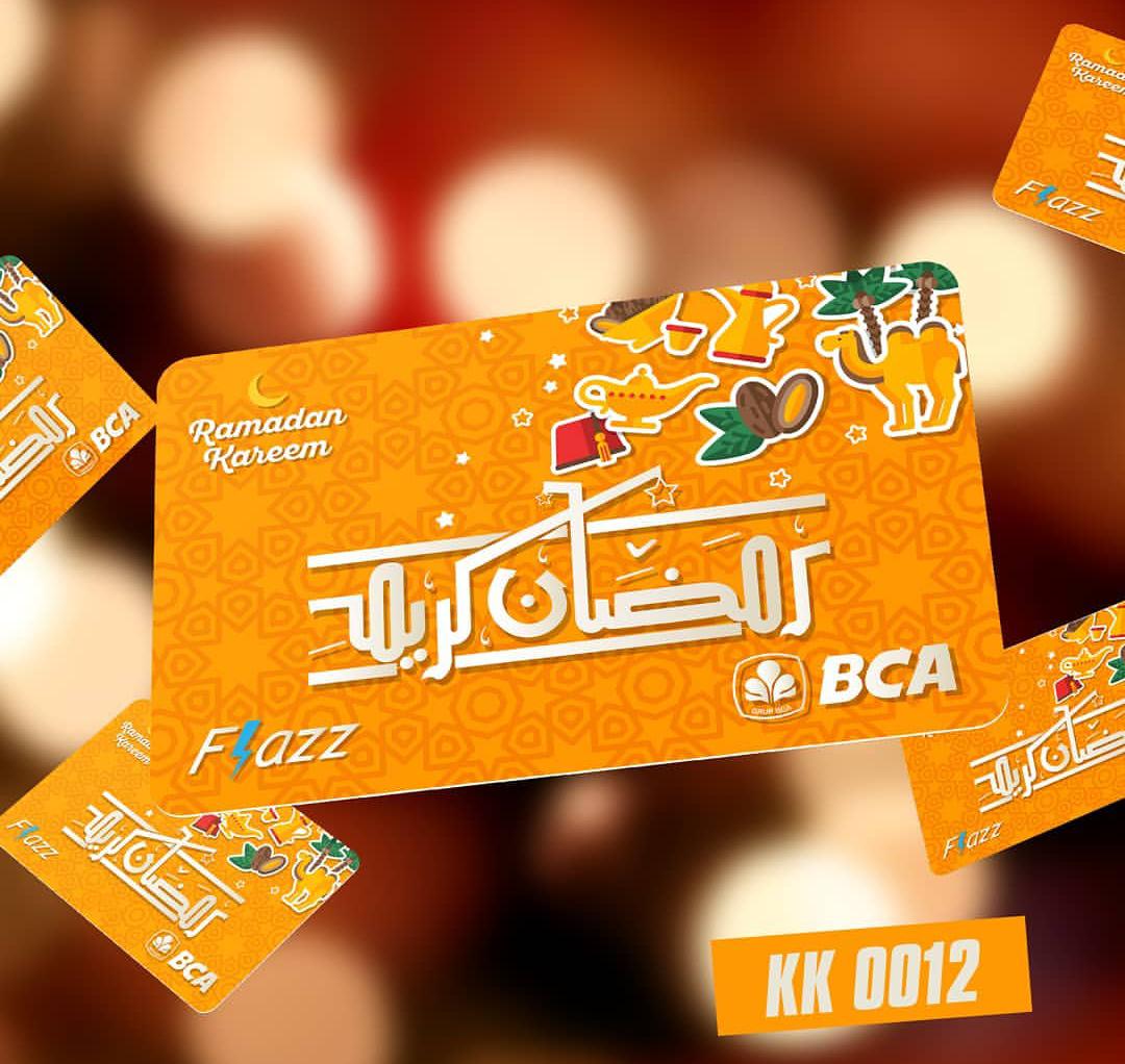 Custom Kartu Flazz BCA Unik dan Free Design Jakarta Timur