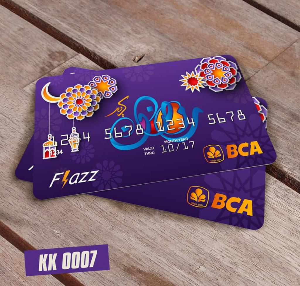 Custom Kartu E Money Free design di Jakarta Utara