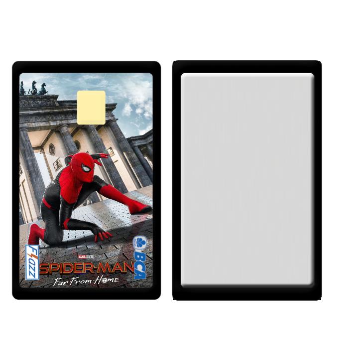 Cetak Souvenir Desain Spiderman Superhero di Tangerang