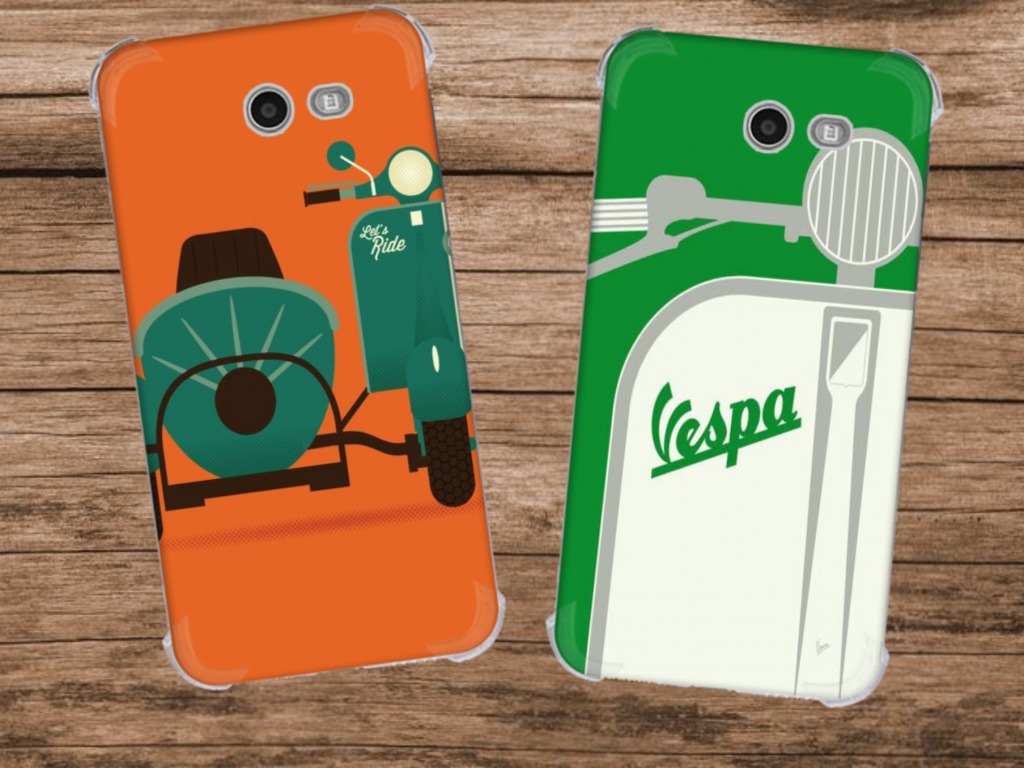 Khusus Scooter Fans, Custom Case Unik Tema Scooter