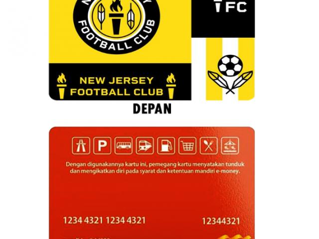 Pesan Desain Kartu E-Money Online untuk Komunitas di Bekasi