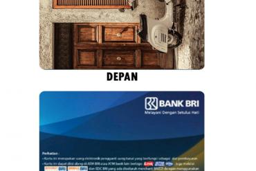Desain Kartu Brizzi Custom Online untuk Komunitas di Depok