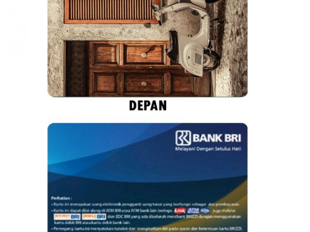Cetak Desain Kartu Brizzi Online untuk Komunitas di Bogor