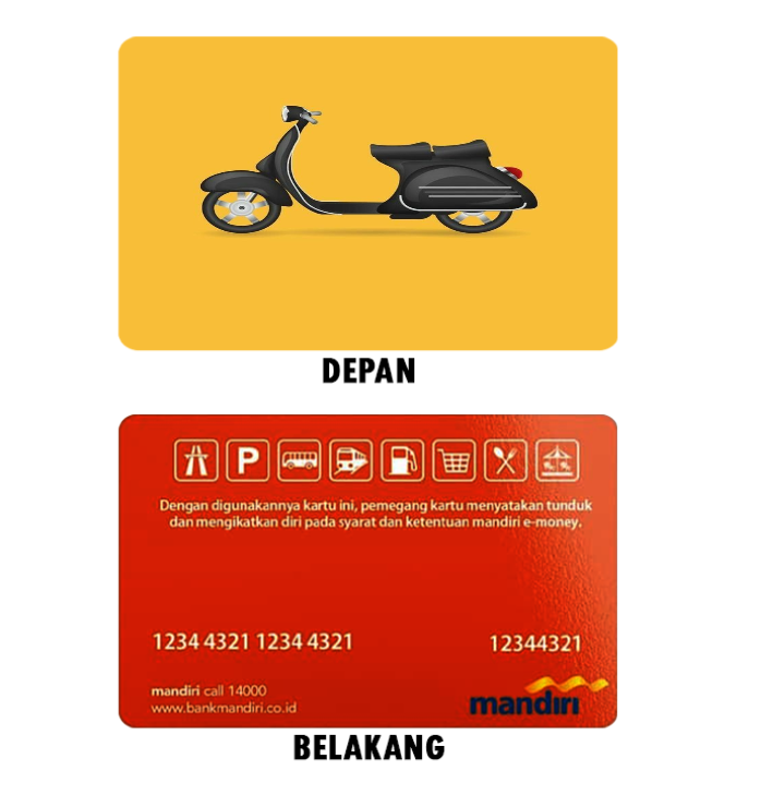 Cetak Free Design E-Money Online untuk Komunitas di Depok