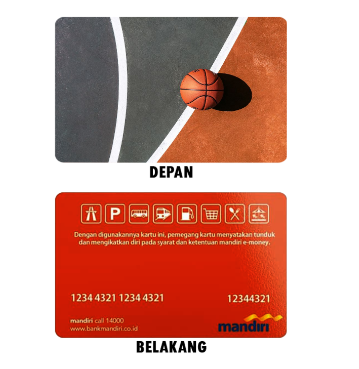 Cetak Kartu E-Money Bebas Design Online untuk Komunitas di Tangerang
