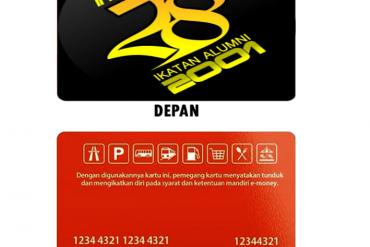 Cetak Desain Lucu E-Money Online untuk Alumni di Bekasi