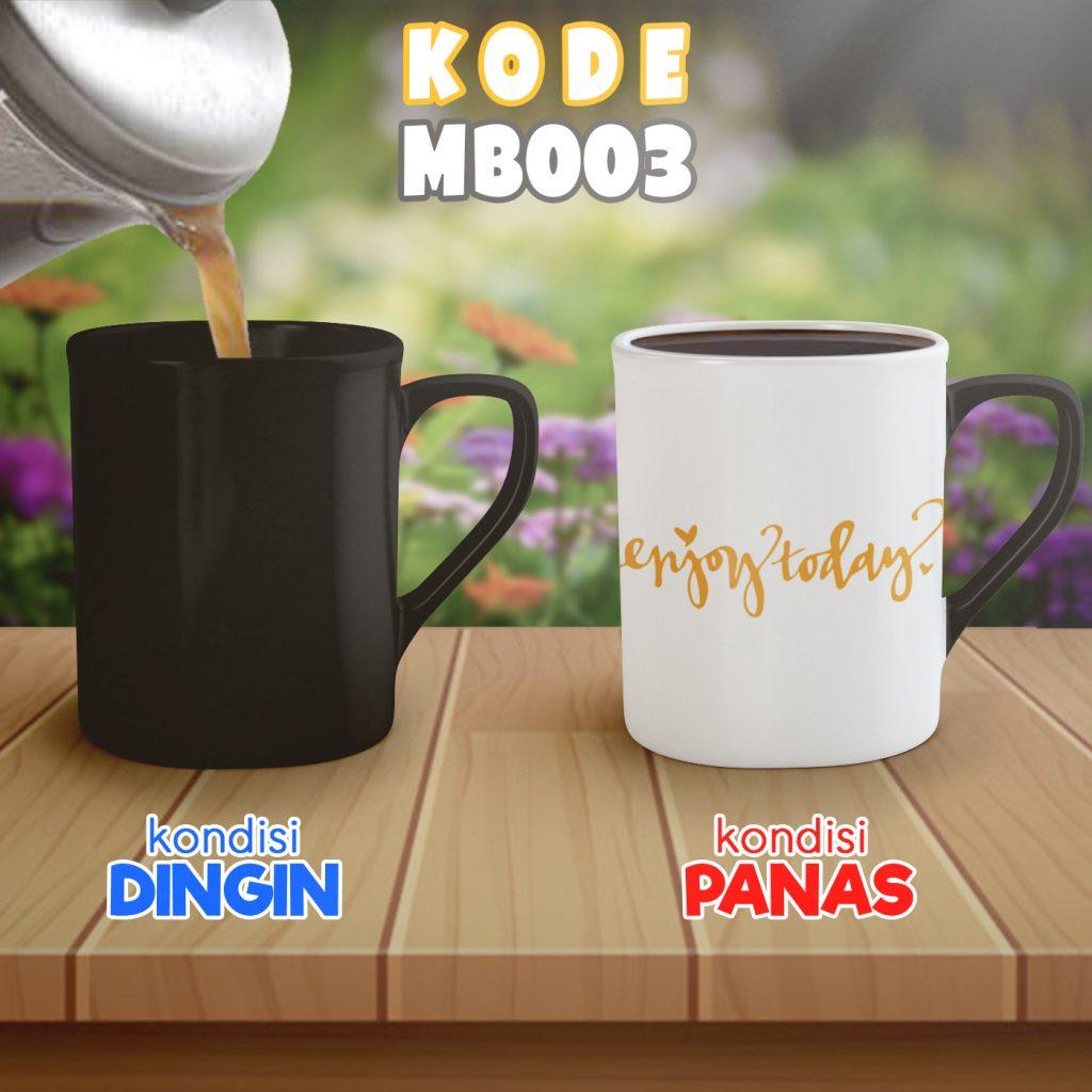 Cetak Mug Bunglon Custom untuk Souvenir di Medan