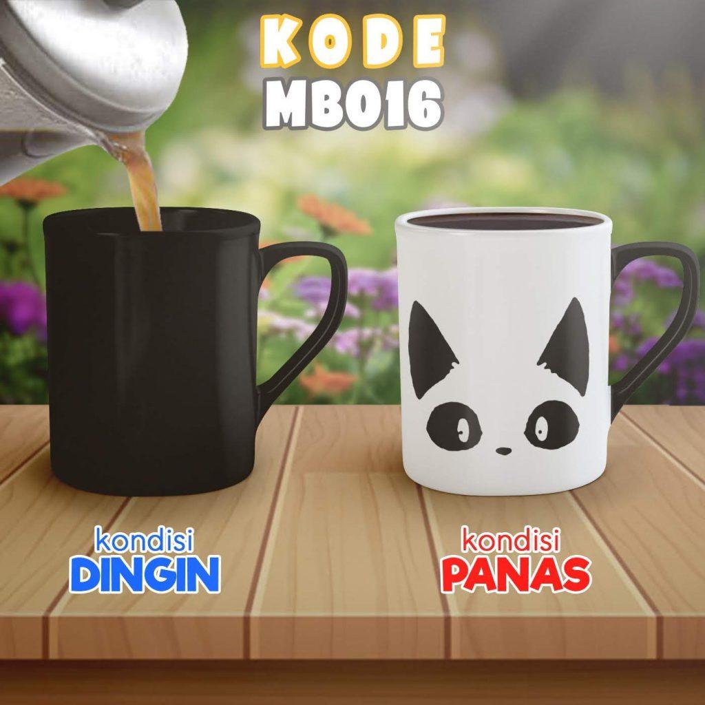 Mug Bunglon Free Design Online untuk Souvenir di Palembang