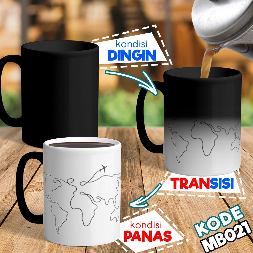 Jasa Custom Mug Bunglon Online untuk Souvenir di Makasar