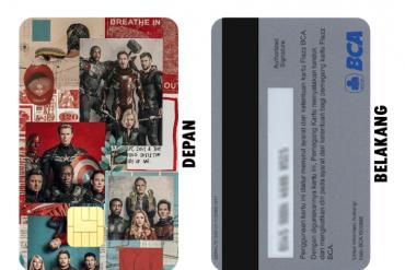 Cetak Flazz Card Boruto Desain Custom di Malang