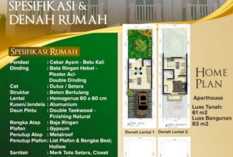 Jual Rumah Mini Cluster Jagakarsa Jakarta Selatan - Unit Terbatas